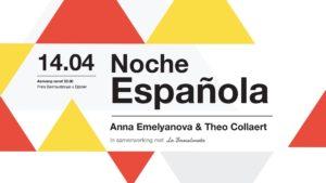 Noche Española KOH met Anna Emelyanova (sopraan) & Theo Collaert (gitaar), @ Zaal KOH  | Eijsden | Limburg | Nederland